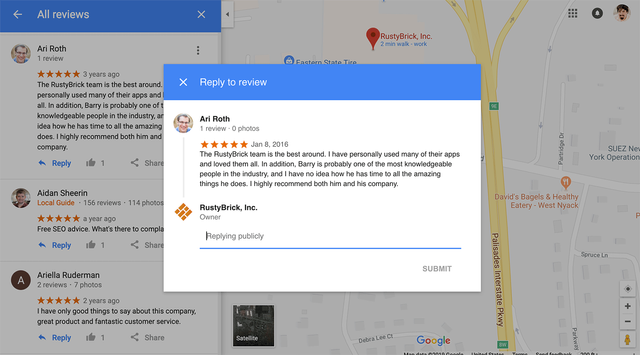 Business owners can now reply to reviews on Google Maps desktop featured image