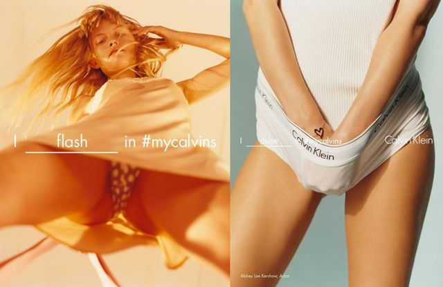Calvin Klein, Crossing Lines. Again featured image