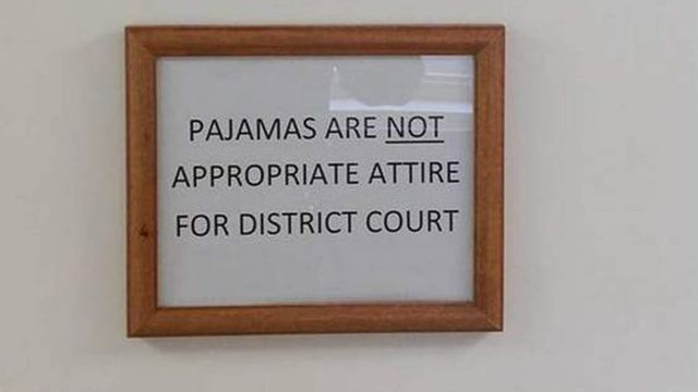 Judge Bans People Wearing Pyjamas In Court featured image