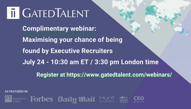 Maximising Your Chance of Being Found by Executive Recruiters featured image