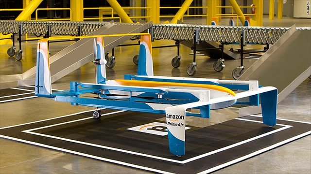 Retail technology: Amazon's drone delivery takes off featured image