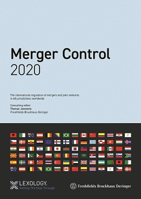 Getting The Deal Through: Merger Control – 2020 edition now out featured image