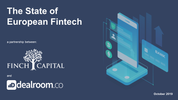 Finch Capital and Dealroom release the State of European Fintech 2019