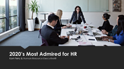 Here's what companies admired for their HR have in common