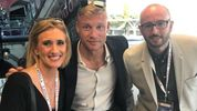 When I met Andrew Flintoff and we didn't talk about cricket...