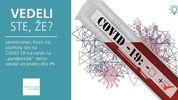 """Vedeli ste že, zamestnanec, ktorý má pozitívny test na COVID-19 má nárok na """"pandemické"""" nemocenské od prvého dňa PN?"""