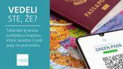 Vedeli ste, že Taliansko je prvou európskou krajinou, ktorá zavádza Covid pasy na pracovisku?