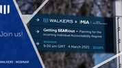 Getting SEARious Webinar – Planning for the incoming Individual Accountability Regime