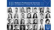 Walkers Professional Services Celebrates Milestone Anniversary in Ireland