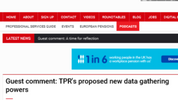 Pensions Age Guest Comment: TPR's proposed new data gathering powers