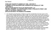 Secretary of State grants planning permission and listed building consent for regeneration of Whitechapel Bell Foundry