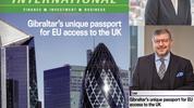 Gibraltar's unique passport for EU access into the UK.
