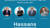 Hassans ranks Tier 1 in Chambers and Partners High Net Worth Guide 2021