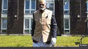 A 100-year-old London man has raised more than £150,000 for coronavirus relief by walking while fasting for Ramadan
