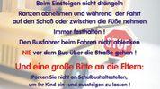 Ferienende = Schulbeginn !