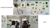 A children's painting show was held in six cites of  North East China