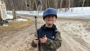 A 4-year-old New Brunswick boy's mission to protect the planet, one garbage bag at a time