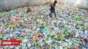 Textile products from plastic trash to fight pollution