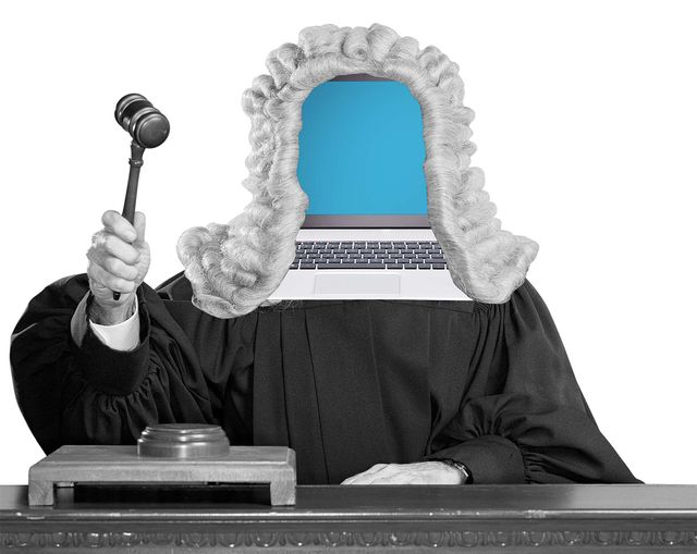 Replacing family  judges with robots? featured image
