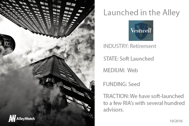Vestwell founder Aaron Schumm interviewed by AlleyWatch featured image
