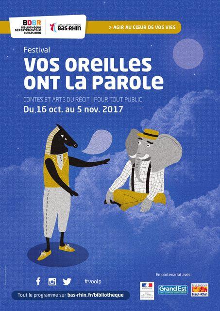 Le festival Vos Oreilles ont la Parole : édition 2017 featured image