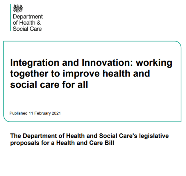 Health and Care White Paper: Integration and Innovation featured image