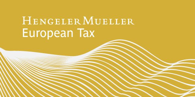 Investment tax law in Germany - still in development featured image