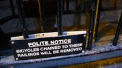 Ignoring polite notices counts as force under English law