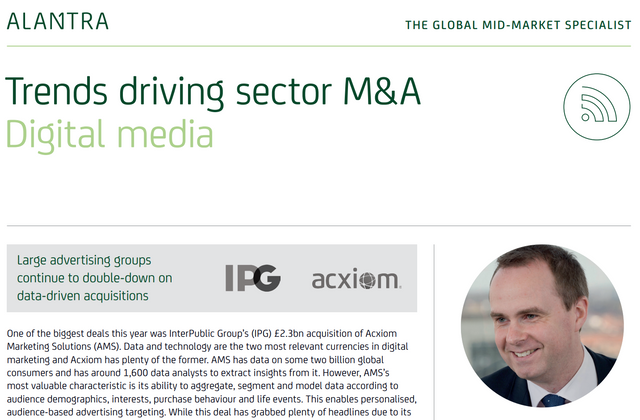 UK digital media sector: Key M&A themes featured image