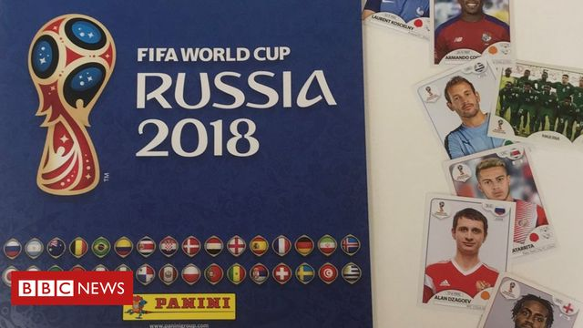 Filling Panini World Cup Sticker album estimated at £773 featured image