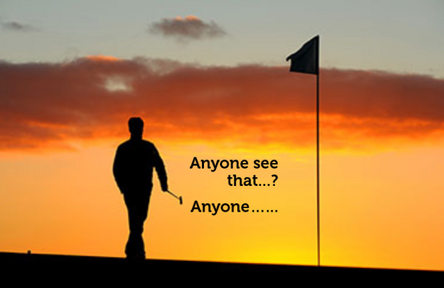 Corporate posts are like golfing alone and getting a 'hole in one'. featured image