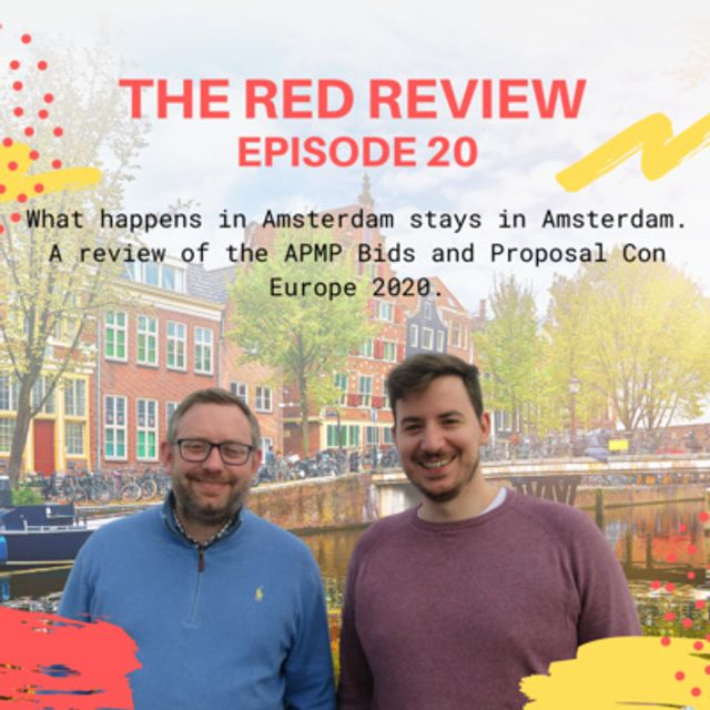Show notes - Red Review Podcast S01E20 - What happens in Amsterdam stays in Amsterdam featured image
