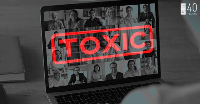 The 5 signs indicating your digital company culture is toxic.. featured image