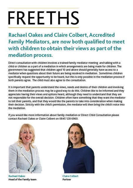 Children's voice in mediation featured image