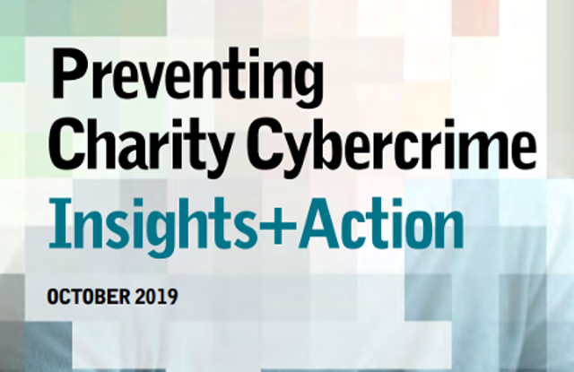 Cyber-crime is a risk to every charity, regardless of size featured image