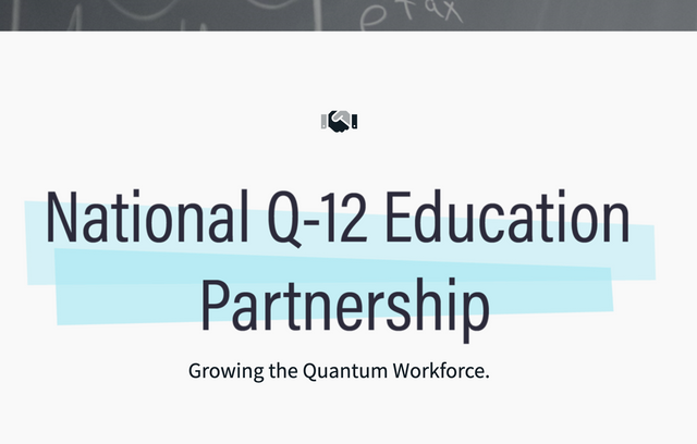 Launch of US Q-12 initiative to promote quantum in school featured image