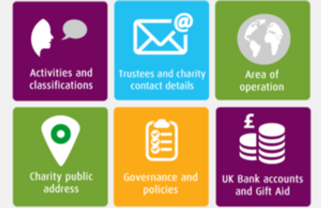 Charities must check and update their information featured image