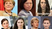 Women leaders are setting an example