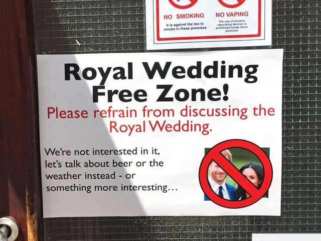 Royal Wedding Free Zone featured image