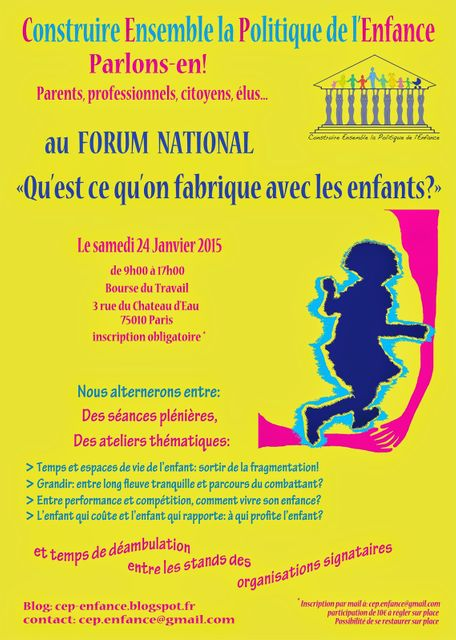 Forum national CEP-Enfance featured image