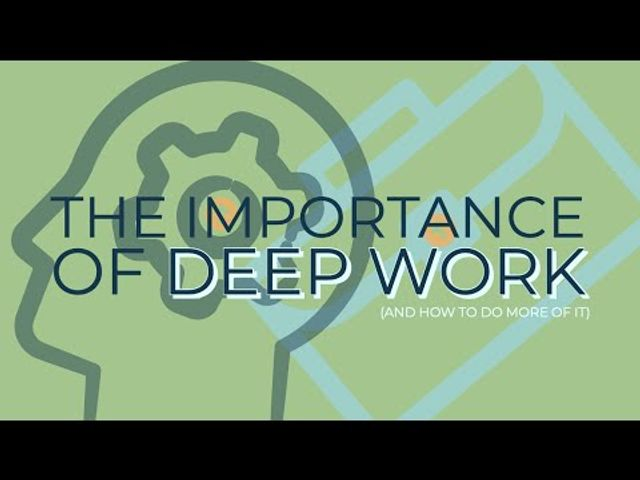 The importance of deep work - and how to do more of it featured image