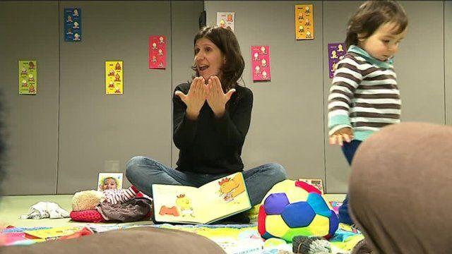Pignan : des bébés apprennent la langue des signes pour communiquer featured image