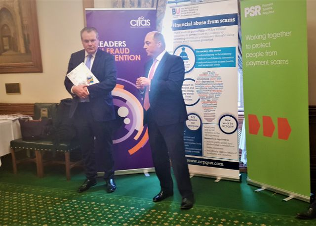 The APPG on Financial Crime & Scamming launches initiative at The House of Commons - Lets get talking about it featured image