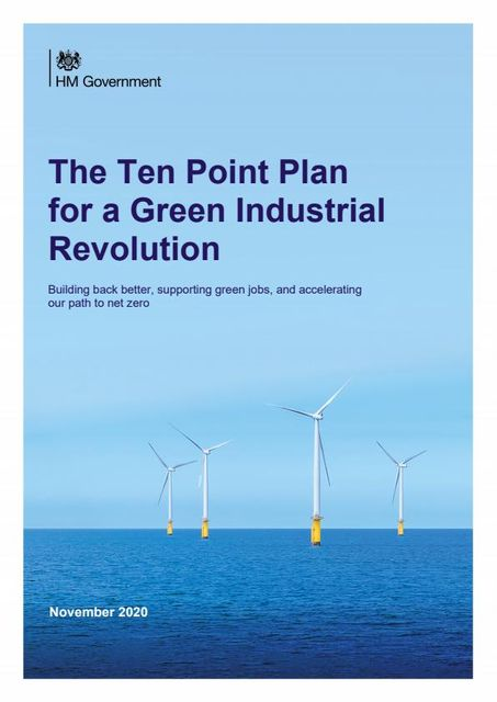UK's Green Industrial Revolution - Further Details Published featured image