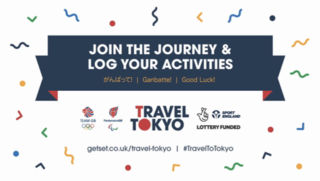 Get Set: Join in the Travel to Tokyo challenge with Team GB ... either as a family or in teams with your school featured image