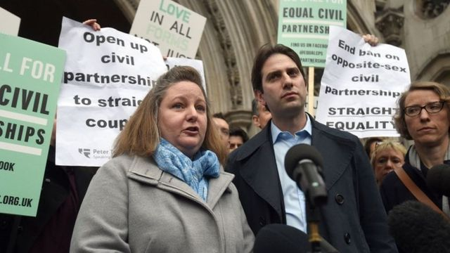 Civil Partnerships not available for heterosexual couples featured image