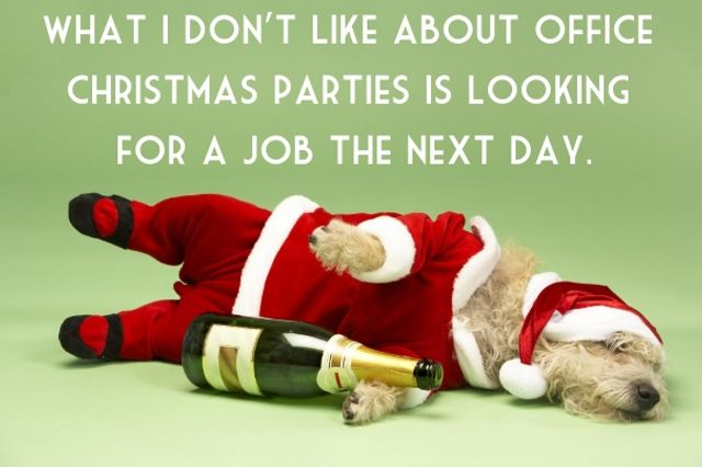Tis not the season to make a fool of yourself at the work Christmas party! featured image