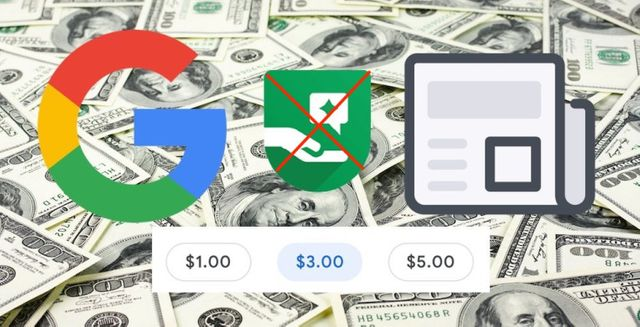Google ditched tipping feature for donating money to sites featured image