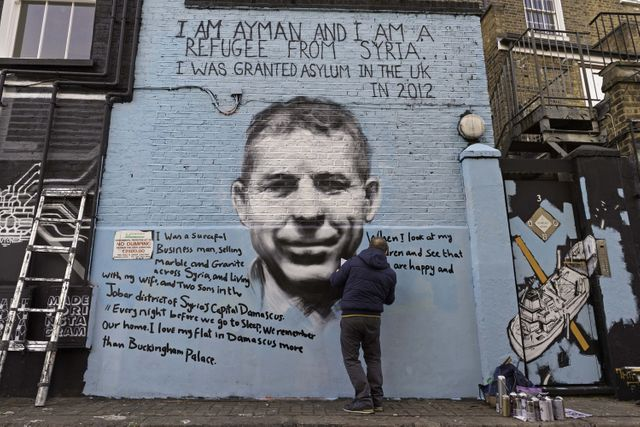 New Camden street art takes political aim featured image