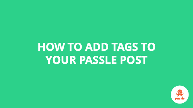 How to add tags to your post – Passle Knowledge Base featured image